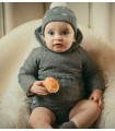 MARTIN ARANDA BABY BOY STARS GREY COAT