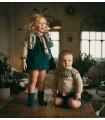 MARTIN ARANDA GIRLS GREEN DRESS