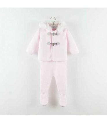 MARTIN ARANDA BABY GIRL PINK SET