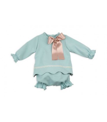 ROCHY BABY GIRL GREEN SET LIBERTY