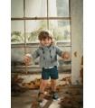MARTIN ARANDA BABY BOY GREEN COAT