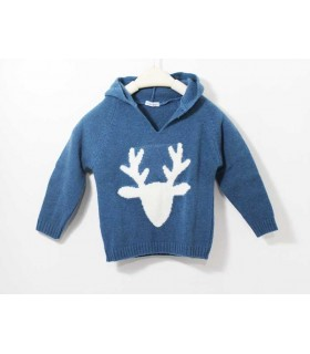 ANCAR BOYS BLUE SWEATER