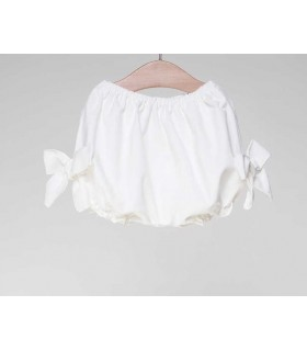 FINA EJERIQUE BABY GIRLS WHITE BLOOMERS