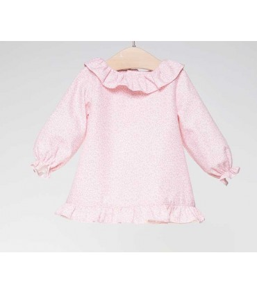 FINA EJERIQUE BABY GIRLS PINK BLOUSE