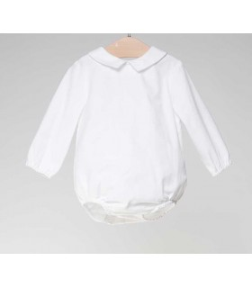 FINA EJERIQUE BABY BOYS WHITE BODY-SHIRT