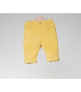 FINA EJERIQUE BOYS YELLOW TROUSERS