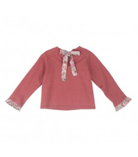TARTALETA GIRLS PINK SWEATSHIRT