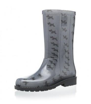 IGOR Rain Grey Boots Dogs Print