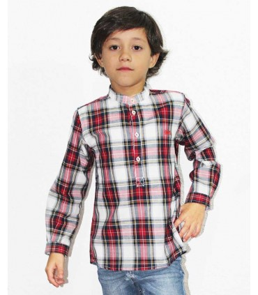 JOSE VARON BOYS CHECKED SHIRT