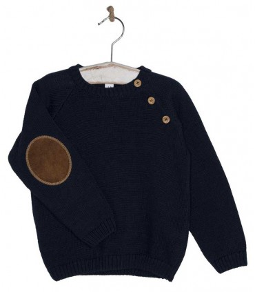 COCOTE NAVY BLUE SWEATER