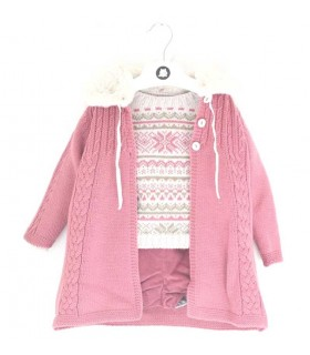 BABY GIRL SET JACQUARD