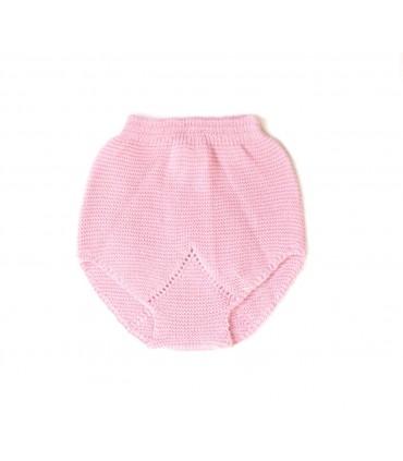 Braguita de punto en rosa bebe niña de Ancar
