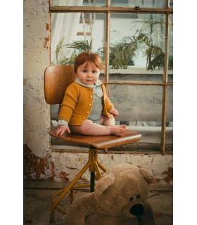MARTIN ARANDA BABY GIRL MUSTARD SET