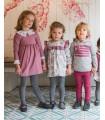 ANCAR GIRLS PURPLE DRESS AND BLOUSE