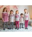 ANCAR GIRLS PURPLE DRESS
