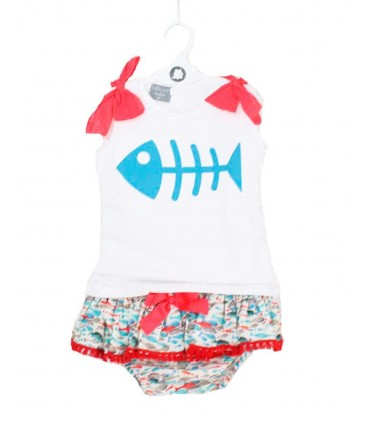 MON PETIT BONBON GIRLS SETS FISHES