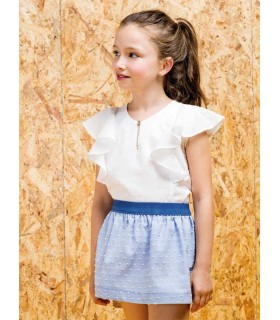 PILAR BATANERO GIRLS SKIRT