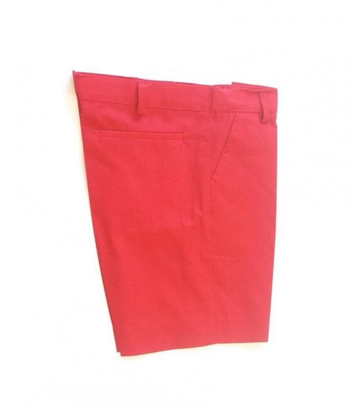 Bermuda niño color rojo Ancar