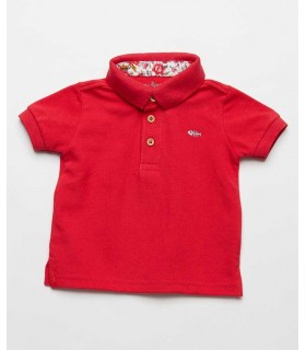 FINA EJERIQUE BOYS RED POLO