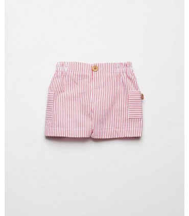 FINA EJERIQUE BOYS RED STRIPES SHORTS