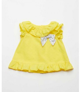 FINA EJERIQUE GIRLS YELLOW DRESS