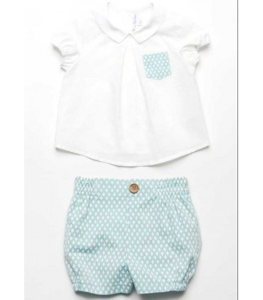FINA EJERIQUE BABY BOY LIGHT GREEN SET