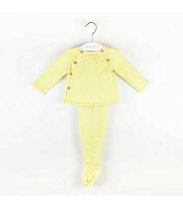 MARTIN ARANDA BABY  YELLOW SET