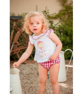 MARTIN ARANDA BABY GIRLS SET PROVENZA