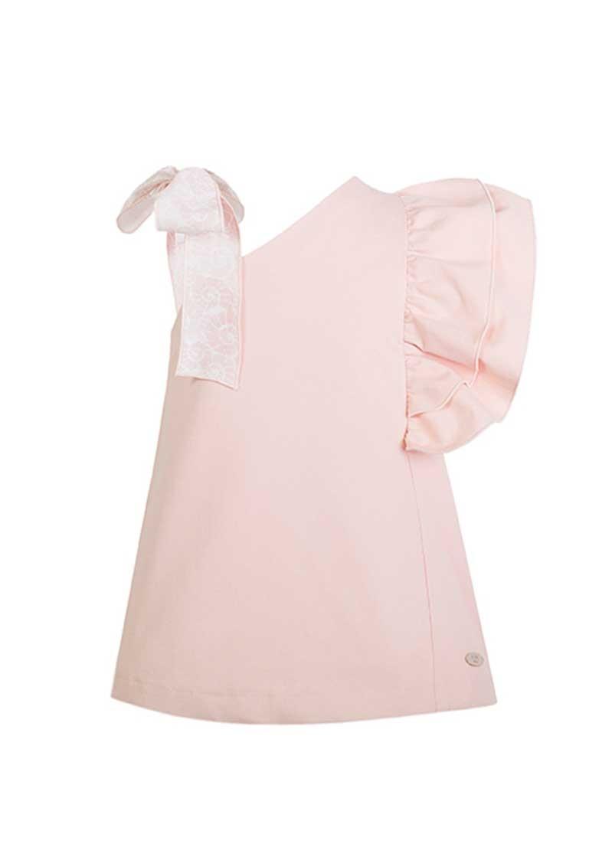 76745ecf1 VESTIDO ROSA VOLANTE SHELL EVE CHILDREN. Vestidos para niña online