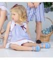 MARTA Y PAULA BABY GIRLS DRESS WITH BONNET APOLO