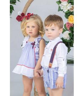 MARTA Y PAULA BABY BOYS SHORTS SET APOLO