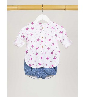 KIDS CHOCOLATE BABY BOYS PINK SHORTS