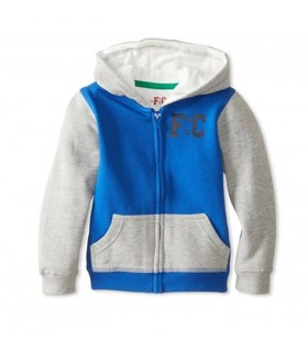 French Connection blue hoodie