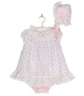 COCOTE BABY GIRLS DRESS FISHES