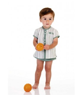 JOSE VARON BABY BOY GREEN SET