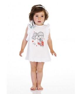 JOSE VARON BABY GIRLS RED SET