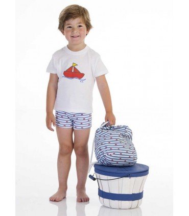 JOSE VARON BABY BOYS BOAT SET