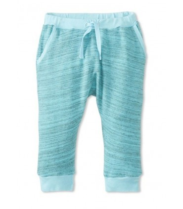 Green Joggin Pants 100% cotton Peas and Queues