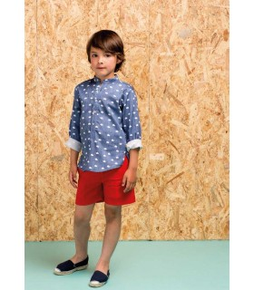 PILAR BATANERO RED AND BLUE BOYS SET