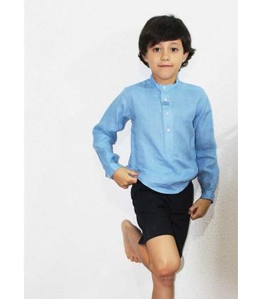 JOSE VARON NAVY BLUE BOY SET
