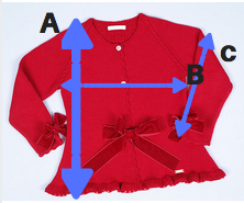 RED COAT SIZE GUIDE