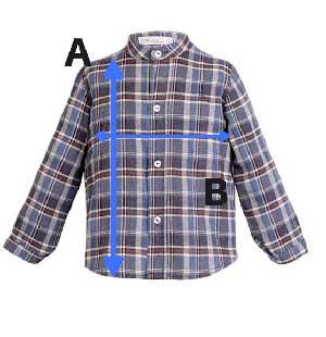 talla camisa eve children