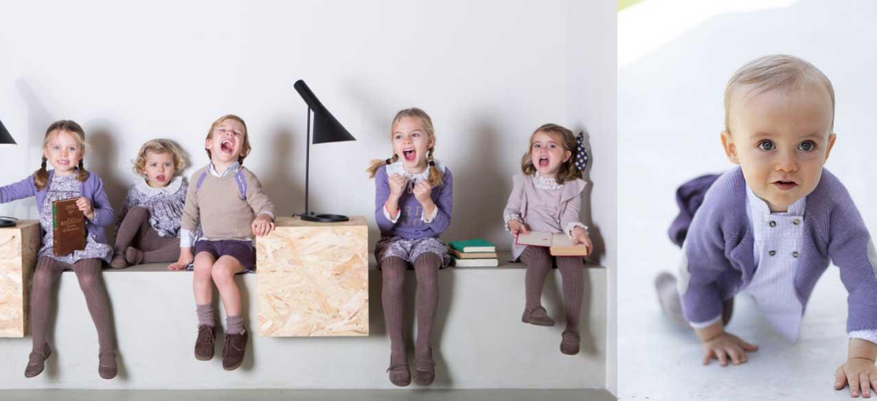 niños ancar violeta