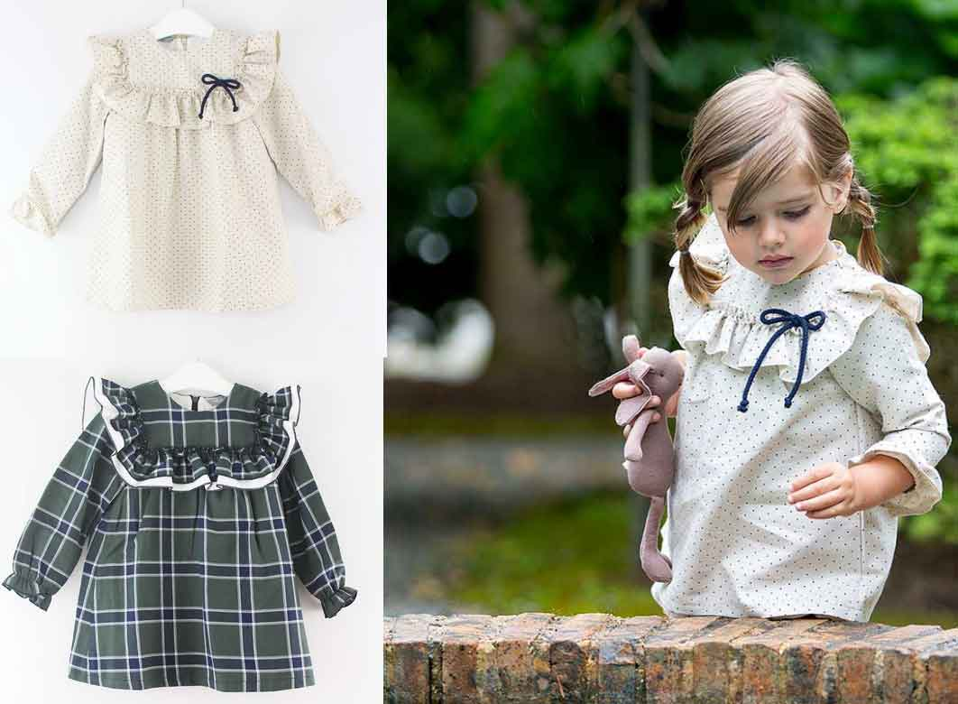 Vestidos Canesu Kids Chocolate