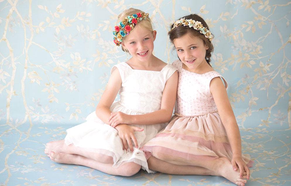 Nueces kids vestidos ESTRELLA niña