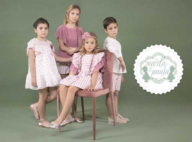 MARTA Y PAULA GIRLS DRESSES, BOY SETS AND SHIRTS, BABY ROMPERS, KIDS SWEATERS